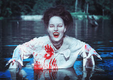 Vampire in the river Stock Photography
