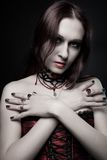 Vampire séduisant Photographie stock
