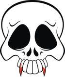 Vampire skull Stock Image
