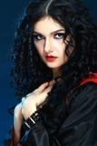 Vampire style make up Stock Photo