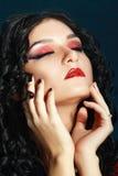 Vampire style make up Royalty Free Stock Photos