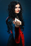 Vampire style make up Stock Image