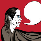 Vampire talk Royalty Free Stock Images