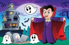 Vampire theme image 9 Royalty Free Stock Photography