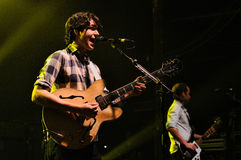 Vampire Weekend (Ezra Koenig) performs at Razzmatazz Stock Photos