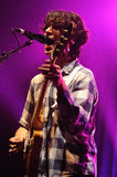 Vampire Weekend (Ezra Koenig) performs at Razzmatazz Stock Images