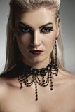 Vampire woman Stock Images