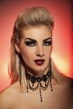 Vampire woman Stock Photos