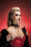 Vampire woman Royalty Free Stock Photography