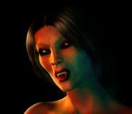 Vampire Woman Royalty Free Stock Photography