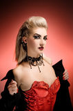 Vampire woman Royalty Free Stock Images
