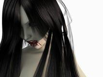 Vampire woman Stock Image