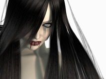 Vampire woman Royalty Free Stock Image