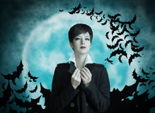 Vampire woman Royalty Free Stock Photos