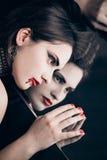 Vampire woman Royalty Free Stock Photo