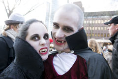 Vampires stock photo