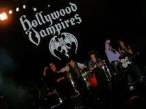 Vampires de Hollywood sur l'étape Photos stock