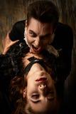Vampires devenus Image libre de droits