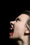 Vampiress Immagini Stock