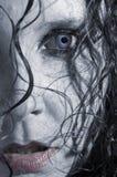 Vampiress atractivo Imagen de archivo libre de regalías