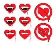 Vampirinneres Lizenzfreies Stockfoto