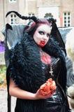 Vampiro foto de archivo