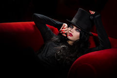 Vampiro fotografia stock