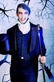 Vampiro agradable Imagenes de archivo