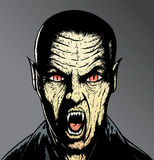 Vampiro asustadizo Foto de archivo libre de regalías