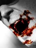 Vampiro de alimentação Foto de Stock Royalty Free