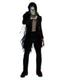 Vampiro de cabelos compridos Fotos de Stock