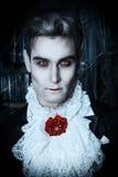 Vampiro de Hallowin fotografía de archivo