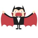 Vampiro de la historieta Fotos de archivo