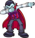 Vampiro de toque ligeiro dos desenhos animados ilustração stock