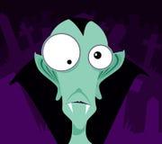 Vampiro dos desenhos animados Imagens de Stock