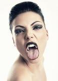 Vampiro femenino Fotos de archivo libres de regalías
