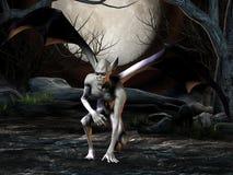 Vampiro - figura de Víspera de Todos los Santos Imágenes de archivo libres de regalías