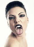 Vampiro fêmea Fotos de Stock Royalty Free