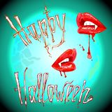 vampiro Halloween Fotos de Stock Royalty Free
