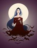 Vampiro hermoso Imagen de archivo