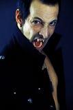 Vampiro masculino Imagen de archivo libre de regalías