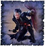 Vampiro masculino hermoso libre illustration