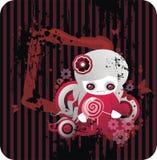 Vampiro pequeno dos desenhos animados Fotografia de Stock