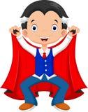 Vampiro pequeno dos desenhos animados engraçados Foto de Stock