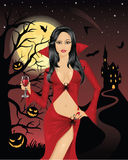 Vampiro 'sexy'. Foto de Stock
