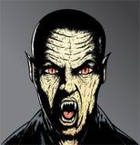 Vampiro spaventoso Fotografia Stock Libera da Diritti