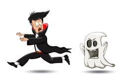 Vampiro y chost Fotografía de archivo