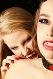 Vampirsbiss Lizenzfreies Stockbild