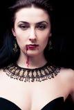 Vampyr Arkivfoto