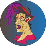 Vampyren piratkopierar Royaltyfri Illustrationer